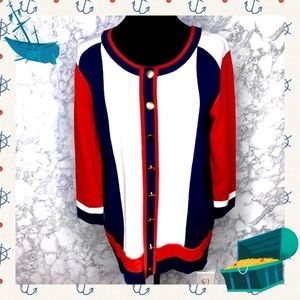 LINEA BY LOUIS DELL'OLIO NAUTICAL SWEATER